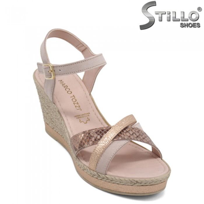 Sandale dama pe platforma - 32751