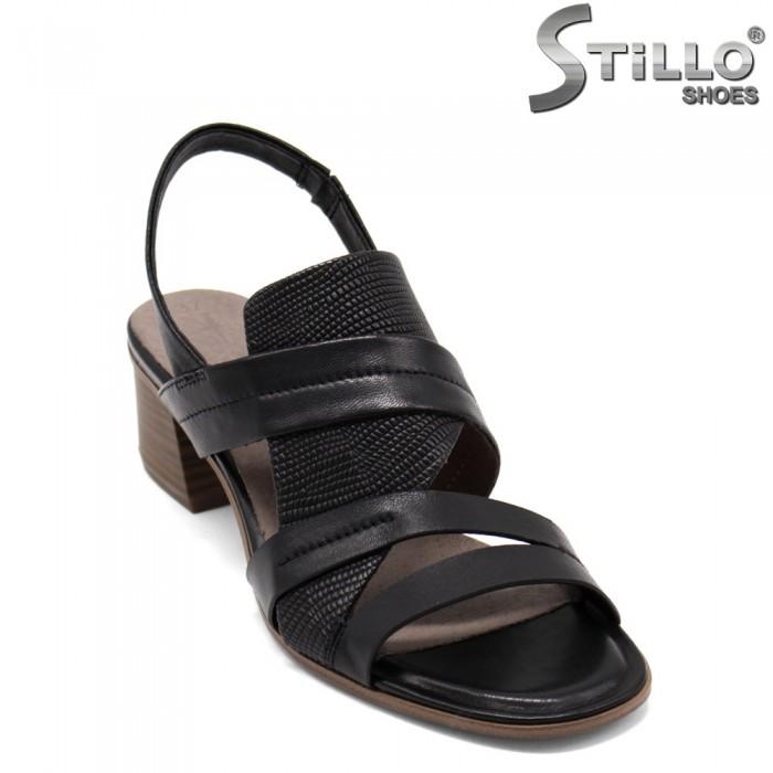 Sandale dama model TAMARIS cu toc mijlociu - 32753