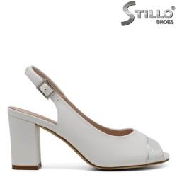 Sandale dama cu toc mijlociu - 32758