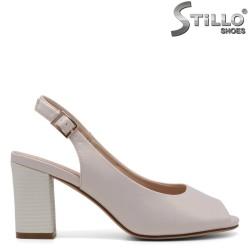 Sandale dama cu toc mijlociu - 32765