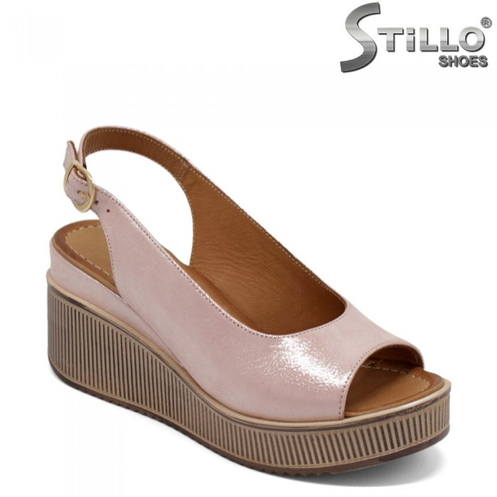 Sandale dama elegante pe platforma  - 32768