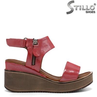 Sandale dama confortabile c fermoar - 32775