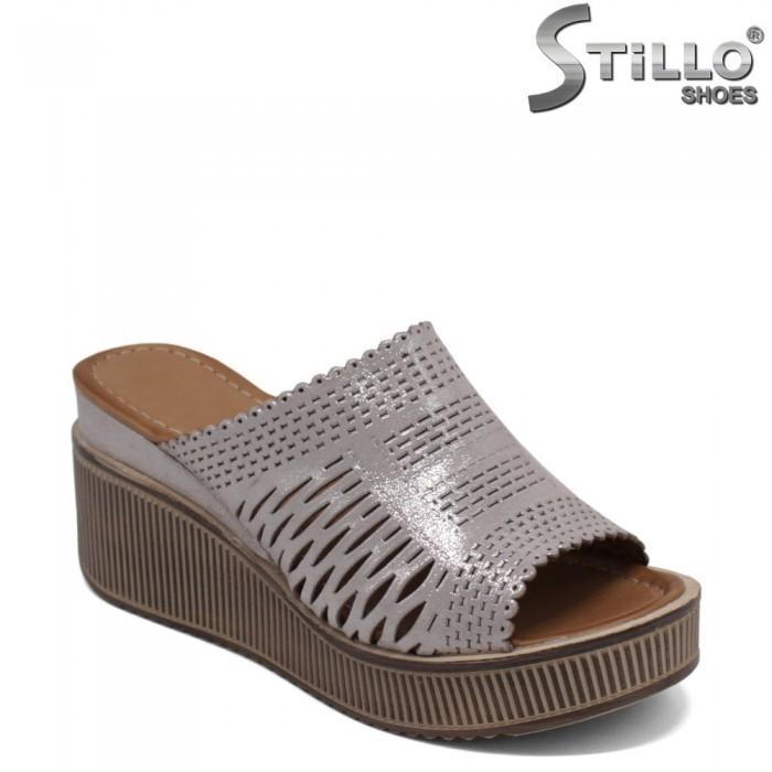 Papuci dama pe platforma  - 32778