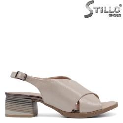 Sandale dama cu toc jos - 32779