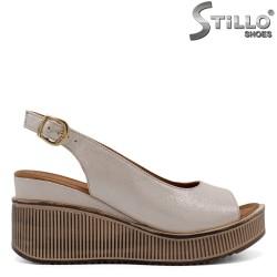 Sandale dama elegante pe platforma - 32781