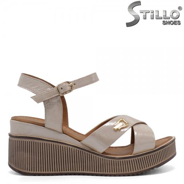 Sandale dama confortabile pe platforma - 32786