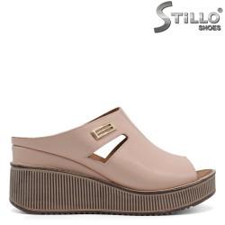 Papuci dama din piele naturala - 32789