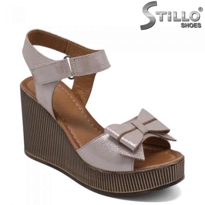 Sandale dama cu platforma inalta - 32792