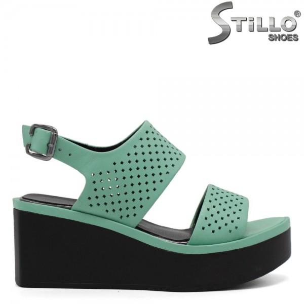 Sandale dama moderne pe platforma - 32794