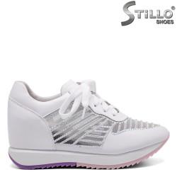 Pantofi dama sport din piele naturala- 32795