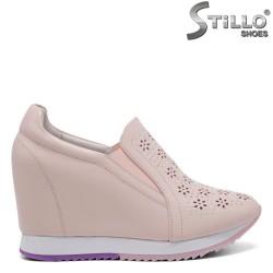 Pantofi dama sport pe platforma - 32796