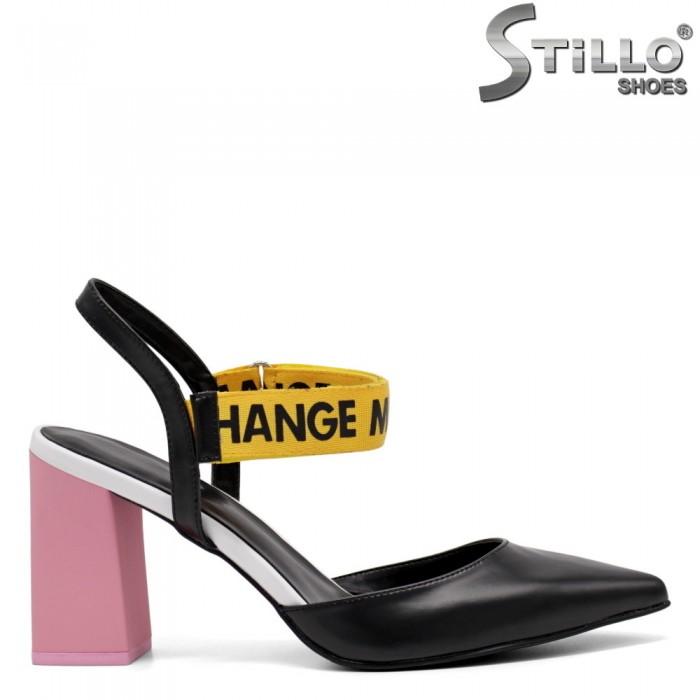 Sandale dama moderne  cu toc inalt - 32798