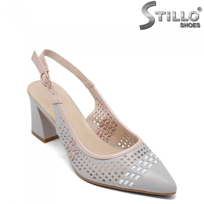 Pantofi dama cu toc - 32800