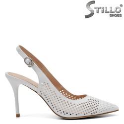 Pantofi dama eleganti din piele naturala - 32807