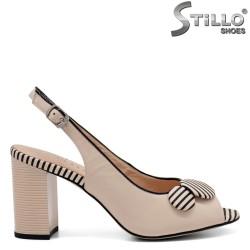 Sandale dama moderne din piele naturala - 32809