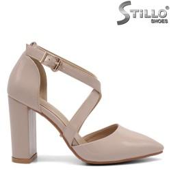 Pantofi dama curelusa  si toc inalt  - 32812