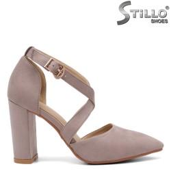 Pantofi dama moderni cu toc - 32813