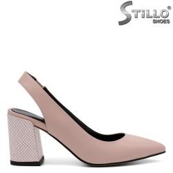 Pantofi dama cu toc mijlociu - 32815