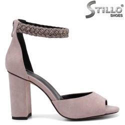 Sandale dama elegante cu curelusa impletita - 32816