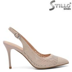 Pantofi dama cu toc inalt subtire - 32818