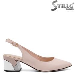 Pantofi dama cu partea din spate decupata - 32859
