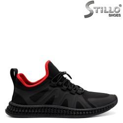 Pantofi sport de bărbat cu șireturi elastice - 32863