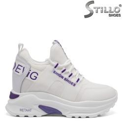 Pantofi dama sport pe platforma - 32875