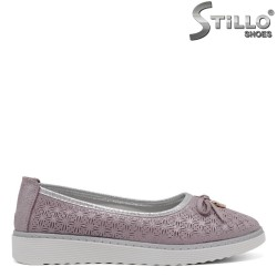 Pantofi dama din piele naturala - 32879