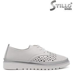 Pantofi dama sport din piele naturala - 32892