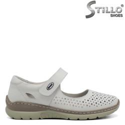 Pantofi dama de vara din piele naturala - 32899