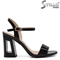 Sandale dama elegante cu toc inalt - 32904