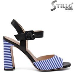 Sandale dama  moderne cu toc inalt - 32905
