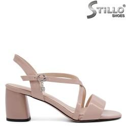 Sandale cu curelusa si toc mijlociu - 32915
