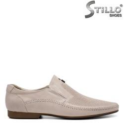 Pantofi bărbatești de vară, cu perforație - 32919