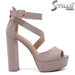 Sandale dama moderne cu toc inalt - 32940