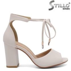Sandale dama cu toc inalt - 32945
