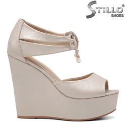 Sandale dama talpa platforma  - 32948