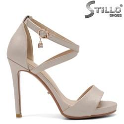 Sandale dama cu toc inalt si curelusa - 32952