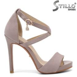 Sandale dama cu toc inalt - 32953