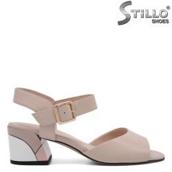 Sandale dama cu toc mijlociu - 32958