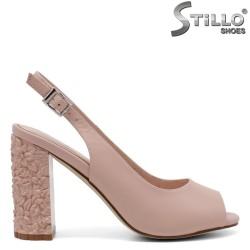 Sandale dama cu toc inalt  - 32976