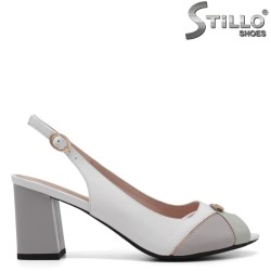 Sandale dama cu toc mijlociu - 32982