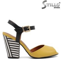 Sandale dama moderne cu toc inalt - 32984