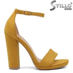 Sandale dama cu toc inalt - 32996
