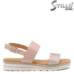Sandale dama cu talpa dreapta  - 33005