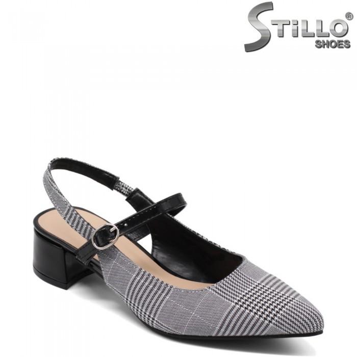 Pantofi dama din piele ecologica - 33007