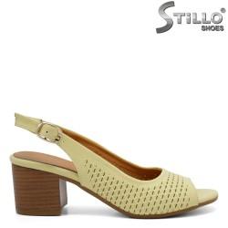 Sandale dama cu toc - 33012