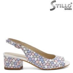 Sandale dama moderne cu toc  - 33015