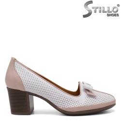 Pantofi cu toc mediu - 33016