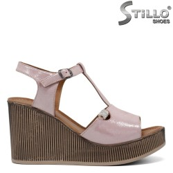Sandale dama pe platforma - 33017